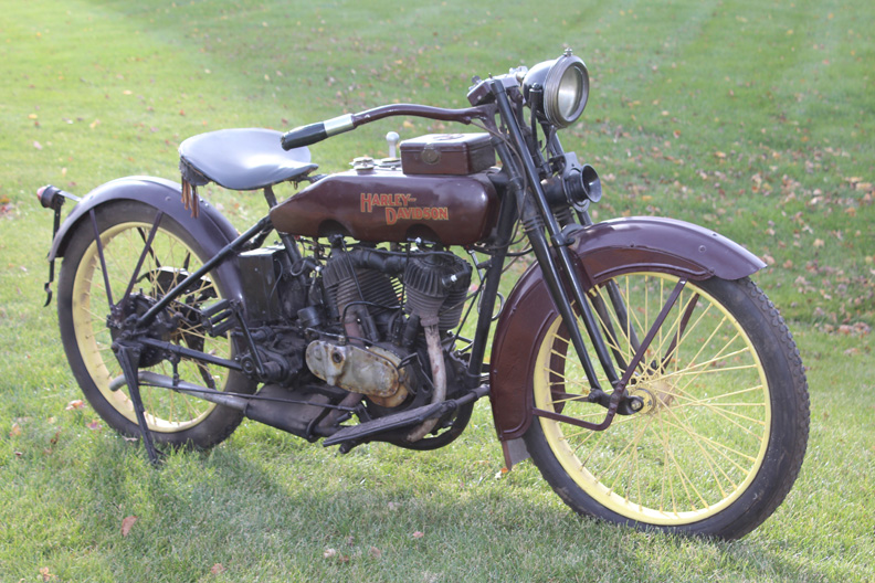 Antique Harley