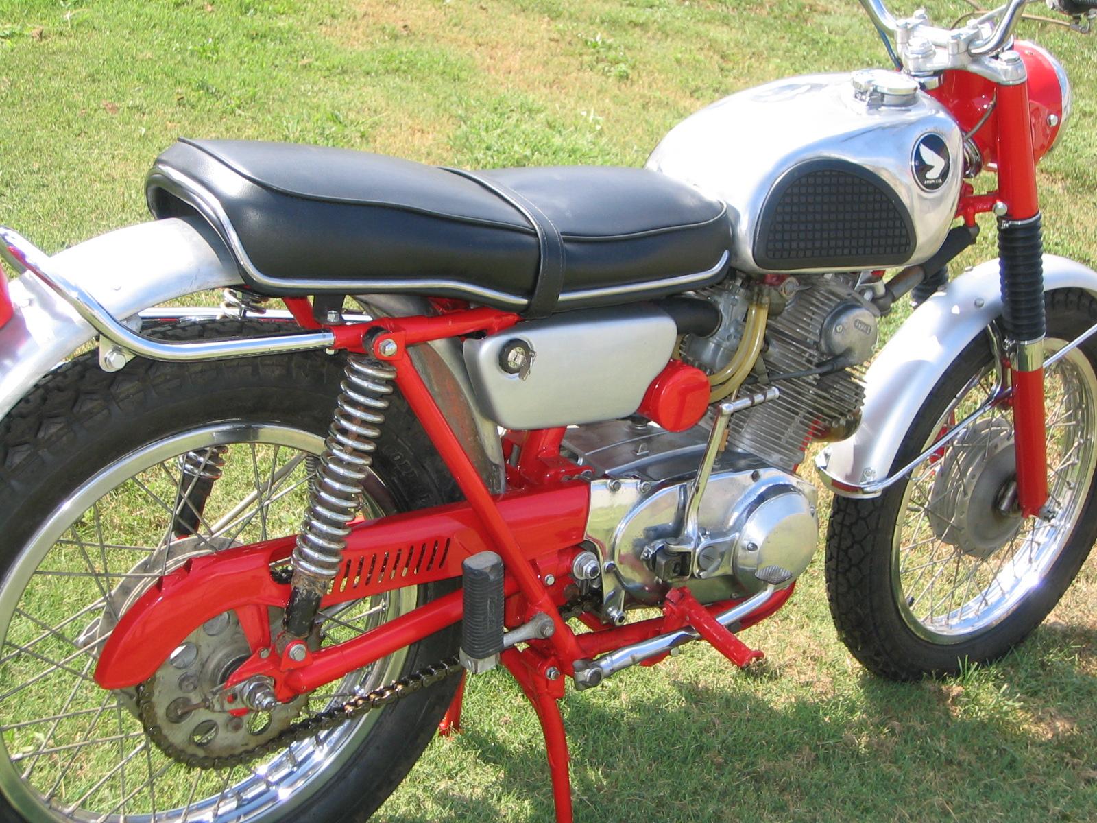 Honda Cl  Scrambler