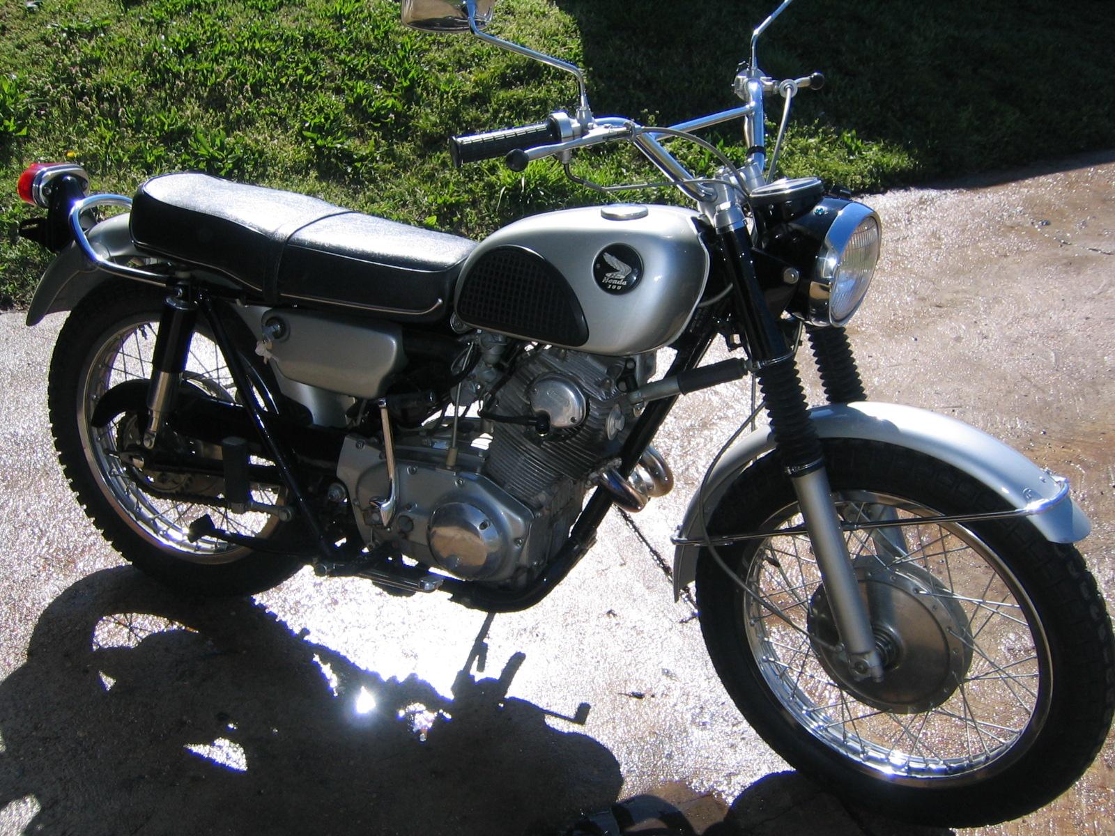 1967 Honda CL 77 305 Scrambler