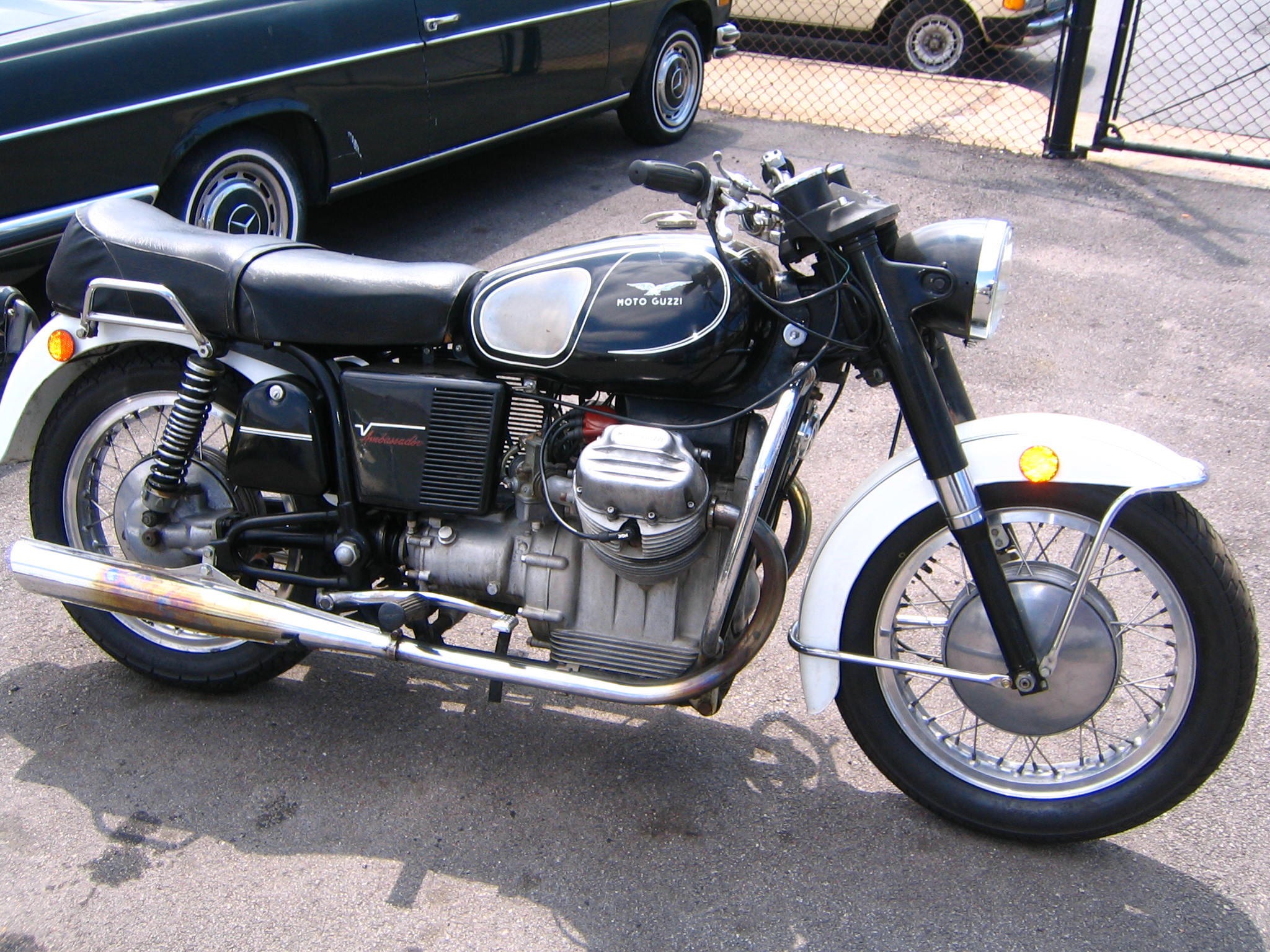 1971 moto guzzi 750 ambassador