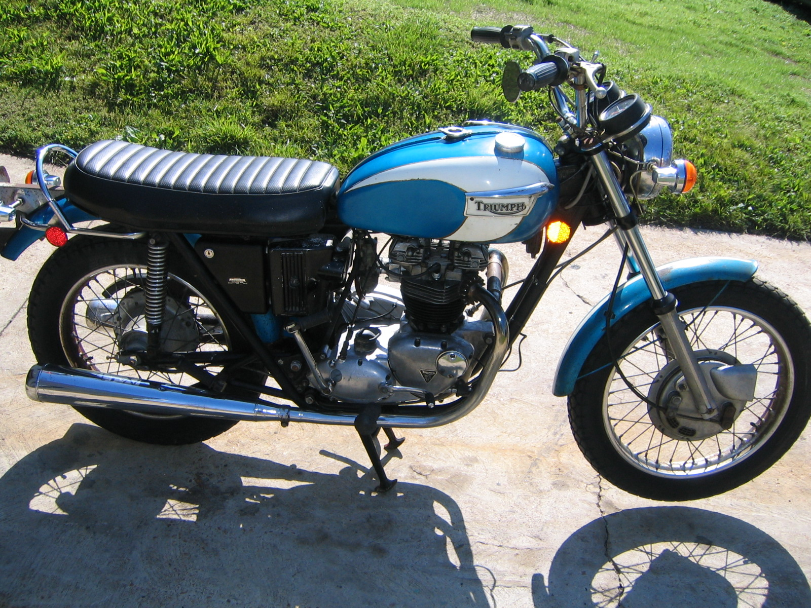 1971 triumph 650 tr6