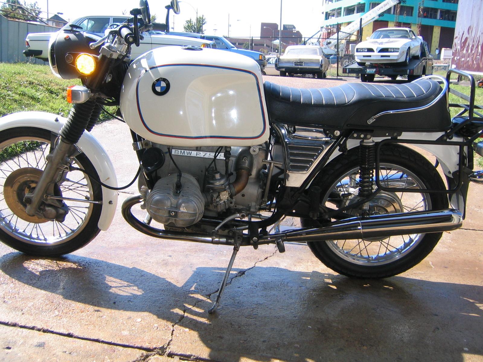 1972 Bmw R75 5