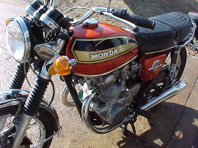 MichaelsMotorcycles 1973 Honda CB450